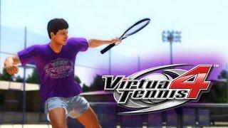 Virtua Tennis 4 - Моя карьера #1 [Создание и начало карьеры!]