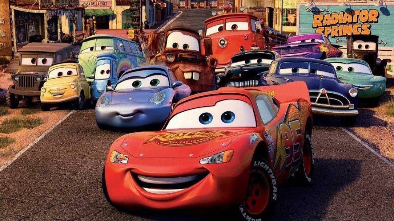 şimşek Mcqueen Izle Arabalar Izle Rengarenk Boyama Yaparak Renkleri