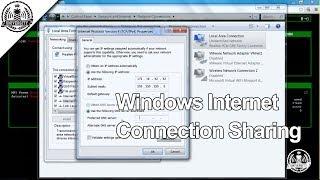 Windows Internet Connection Sharing - WiFi Pineapple Mark V - Pineapple University