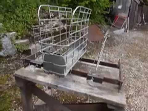 r alisation d 39 un barbecue vertical youtube