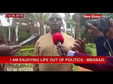 I am enjoying life out of politics - Mbabazi