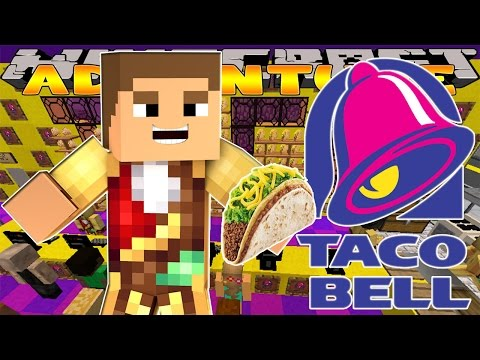 Minecraft - Little Donny Adventures - TACO BELL JOB FOR THE DAY