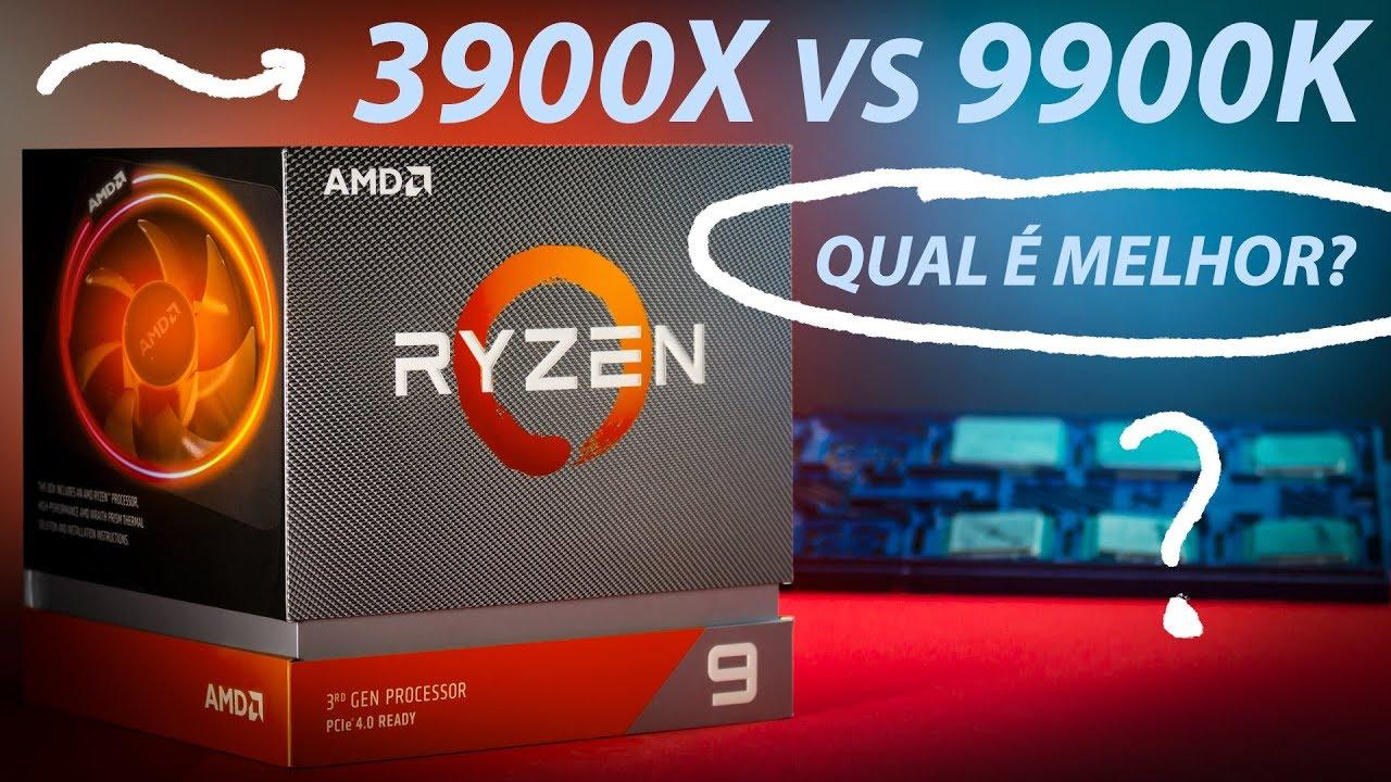‹ Ryzen 9 3900x vs i9 9900k › OC em 10 GAMES | Qual é melhor?