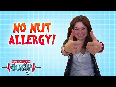 No Nut Allergy! | Operation Ouch | Science For Kids