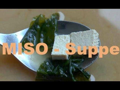 miso suppe einfach schnell sehr gesund youtube. Black Bedroom Furniture Sets. Home Design Ideas