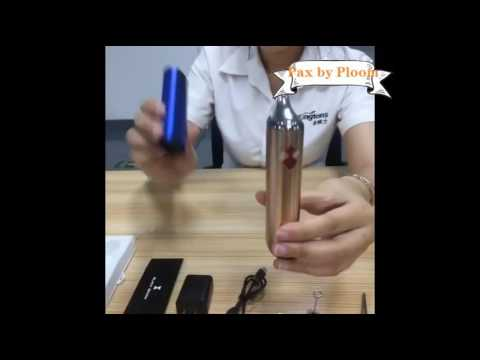 Vaporizer review 2016 - how to use black widow dry herb vaporizer from Kingtons