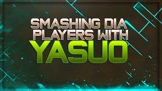 TheWanderingPro - Smashing Diamond Players With Yasuo