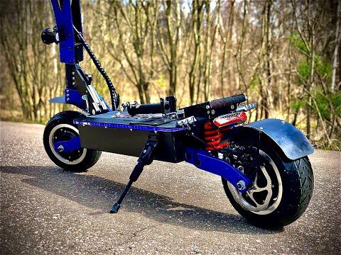 МОЩНЕЙШИЙ ЭЛЕКТРОСАМОКАТ Toursor Bizon - обзор, тест-драйв, замер максимальной скорости!