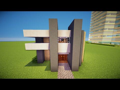 minecraft simple modern house 2 hd