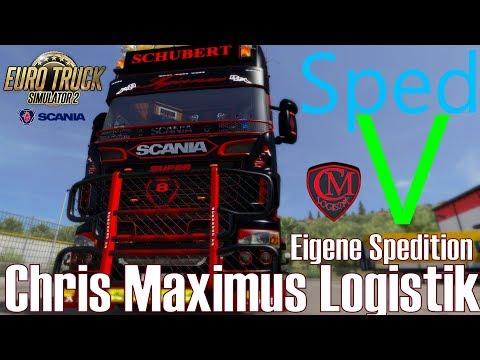 ETS2 I Scania Schubert ★ Eigene Spedition I Chris Maximus Logistik ★ #521 Euro-Tour [Deutsch/HD]
