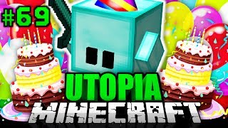 BLOCKY hat GEBURTSTAG?! - Minecraft Utopia #069 [Deutsch/HD]