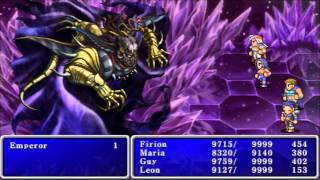 Final Fantasy II Final Boss: Emperor
