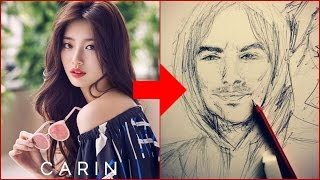 20 Best Drawings by Kpop Idols