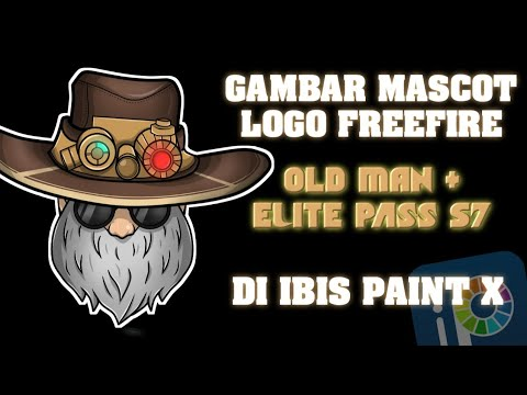 Gambar Maskot Logo Old Mans Topi S7 Freefire Gume2g Youtube