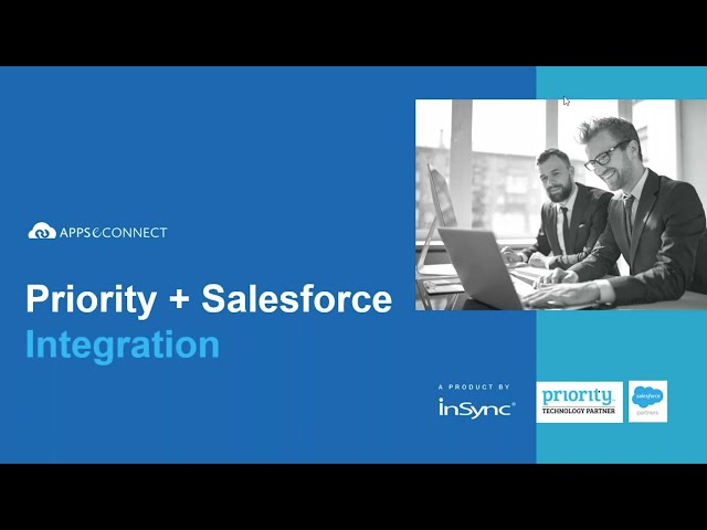 Webinar: Connect Priority ERP and Salesforce CRM | APPSeCONNECT