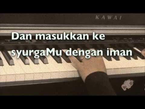 Selalu Bersama~~ Imam Muda Nazrul & Imam Muda Fakhrul~~ Piano Cover with lyrics.