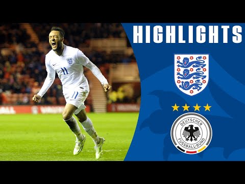 England U21s 3-2 Germany | Goals & Highlights