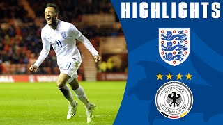 England U21s 3-2 Germany | Goals & Highlights