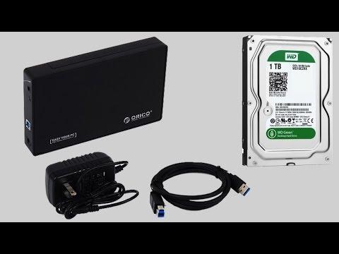 Кейс USB 3.0 для HDD SATA 3.5 ORICO 3588US3. Распаковка и тесты!!