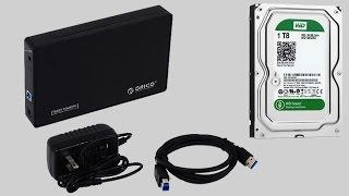 видео Внешний карман USB 3.0 mSATA для SSD накопителей