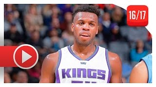 Buddy Hield Full Highlights vs Nuggets (2017.02.23) - 16 Pts, Kings Debut!