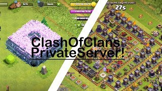 CLASH OF CLANS PRIVATE SERVER!! LINK IN DESCRIPTION❤️ [WORKING]!