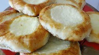 Ватрушки с творогом + рецепт безопарного дрожжевого теста для булочек и пирогов
