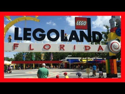 LEGOLAND FLORIDA REVIEW: THEME PARK RIDES! COMPLETE THEME PARK TOUR! TRAVEL VLOG!