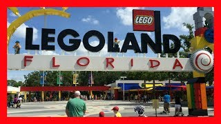 LEGOLAND FLORIDA REVIEW: THEME PARK RIDES! COMPLETE THEME PARK TOUR! TRAVEL VLOG!