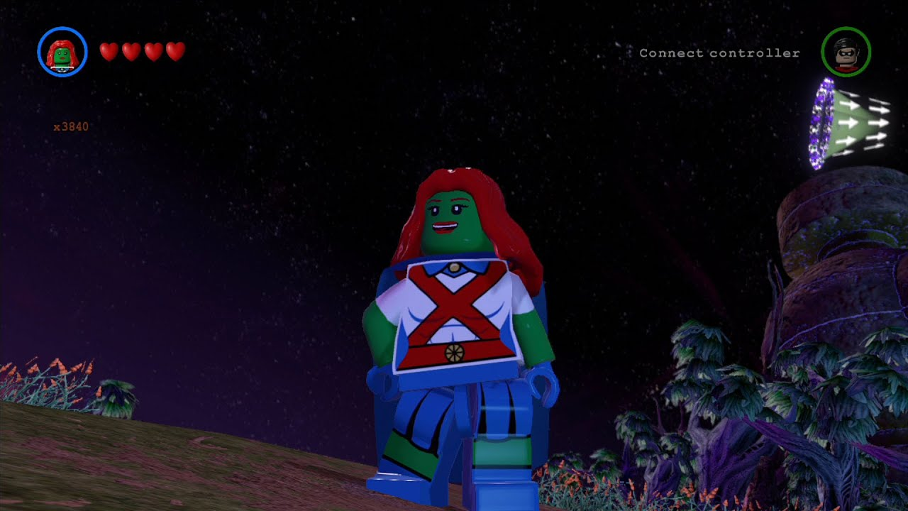 LEGO Batman 3: Beyond Gotham - Miss Martian Free Roam ...