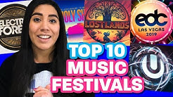 TOP 10 MUSIC FESTIVALS in the USA 2019