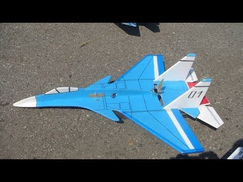 RC Plane Su-37  vertical takeoff