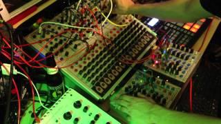 Serge TKB Controlling Oberheim SEM and Moog Voyager