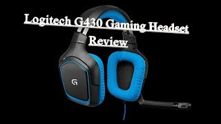 Logitech G430 7.1 Surround Sound Gaming Headset Review
