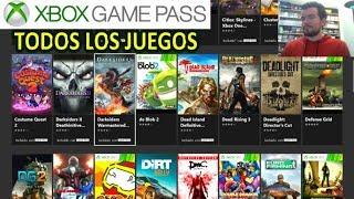XBOX GAME PASS - Lista de todos los juegos disponibles (y recomendaciones!!)