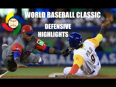 WBC | 2017 World Baseball Classic | Defensive Highlights
