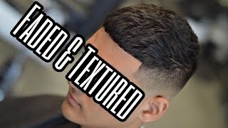 How To | Textured Top & Bald Fade