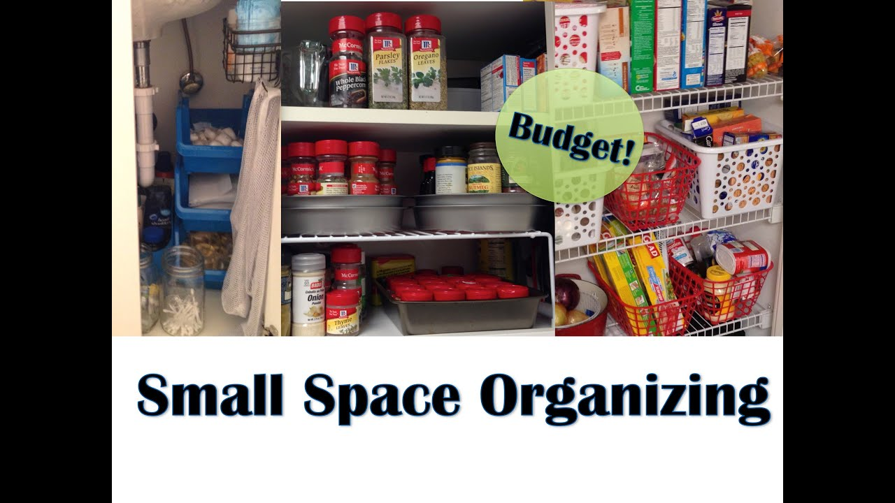 Apartment organization small space organizing youtube - Organize small space property ...