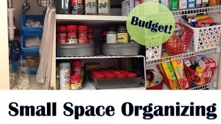 APARTMENT ORGANIZATION | Small Space Organizing