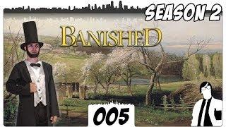 Banished #005 - Huhn und Stein soll es sein [Deutsch] | Let
