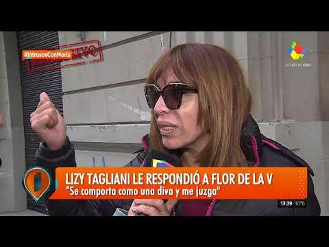 Lizi Tagliani vs Flor de la V: Se pone en diva y me juzga