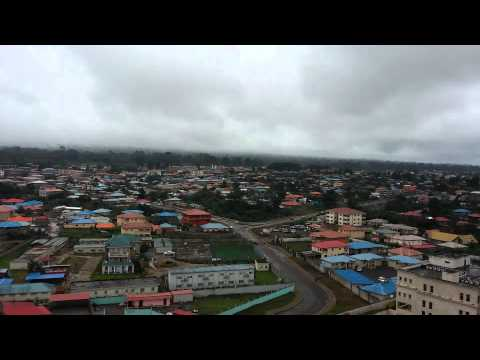 Equatorial Guinea city of Malabo Africa
