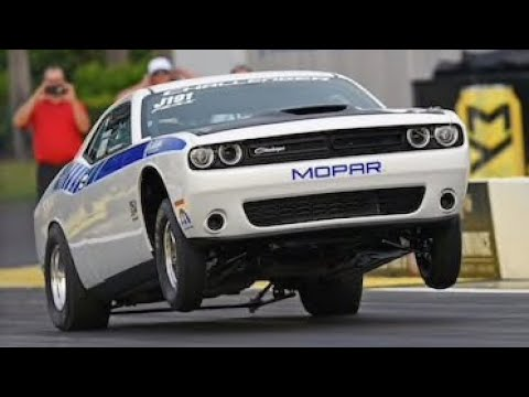 Ultimate Dodge Challenger Wheelie Compilation!