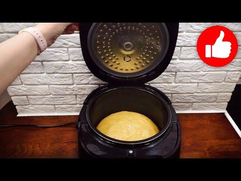 Пирог с клюквой на кефире в мультиварке