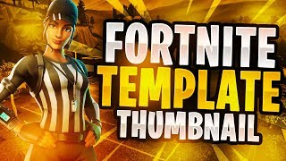 New Fortnite NFL Themed Skins Thumbnail Template 2018! - (NEW FREE Fortnite GFX Template)