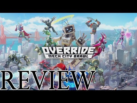 Override Mech City Brawl is a delightful indie that provides fun offline and online multiplayer options