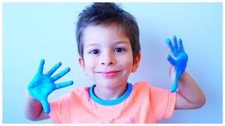 Learn the Coloring with paint - Fun learning colors for kids