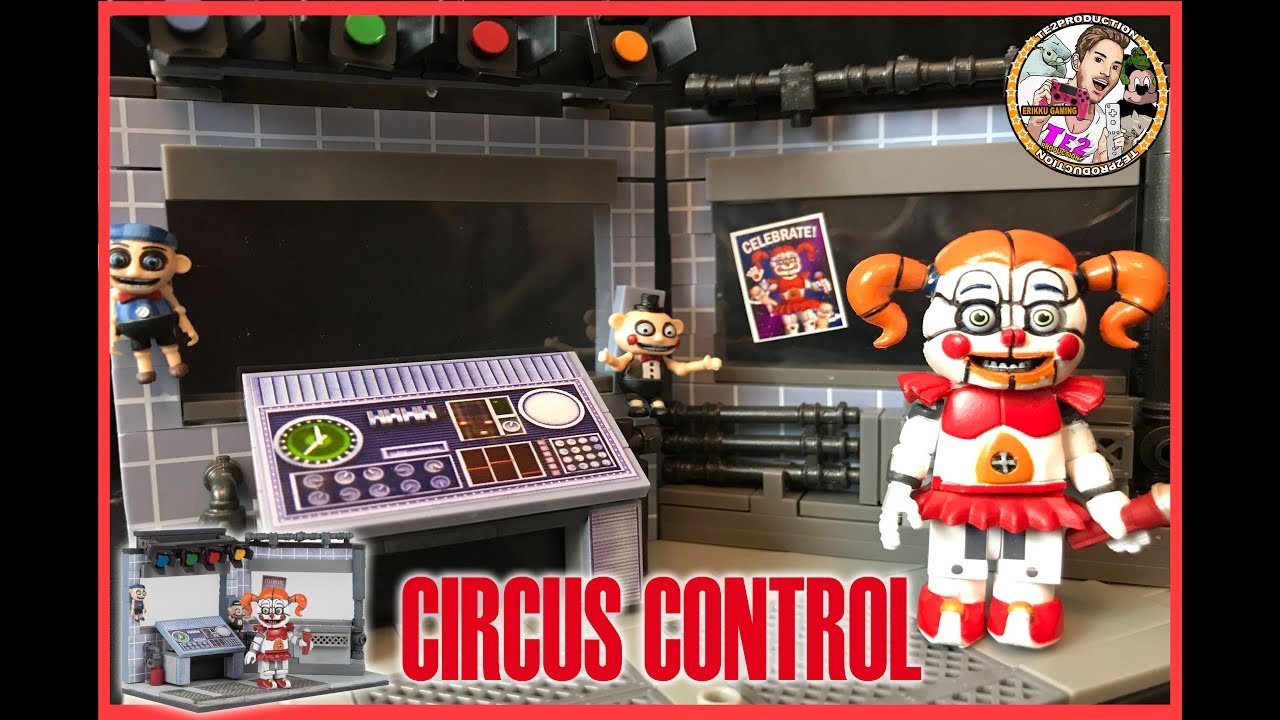 "/""Circus Control/"" Five Nights at Freddy/'s Sister Location"