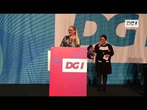 Årets træner hyldes på DGI's årsmøde