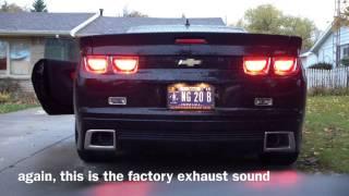 Baixar 2011 Camaro SS Factory Exhaust vs Lingenfelter Corsa Axle Back Exhaust